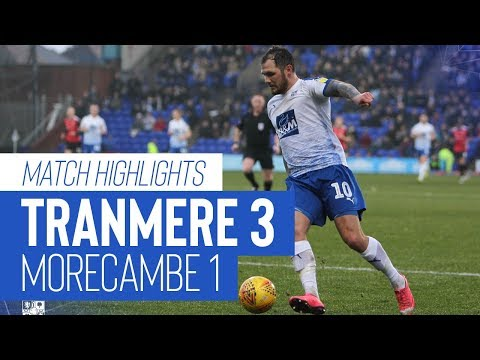 Match Highlights | Tranmere Rovers v Morecambe - Sky Bet League Two