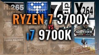 Ryzen 3700x or 9700k videos / InfiniTube