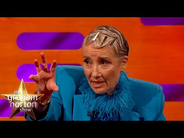 Emma Thompson Got Mistaken For A Naked 50 Year Old Man | The Graham Norton Show