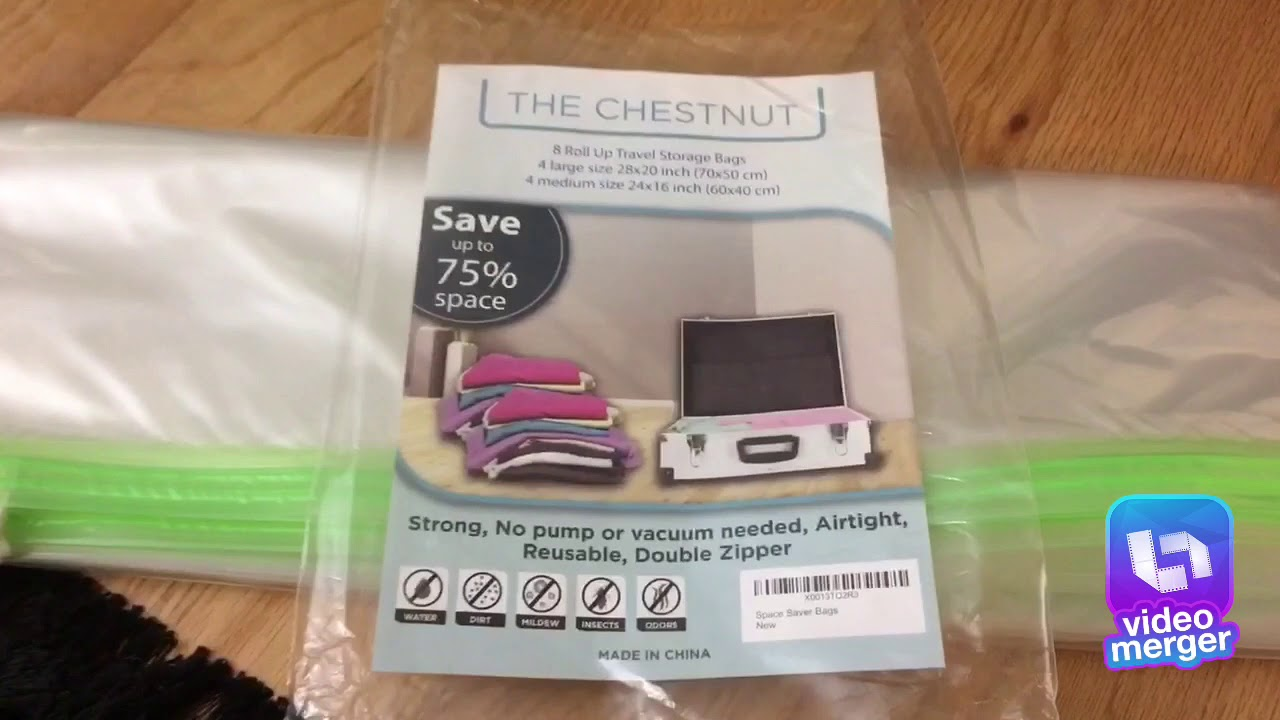 Review For Space Saver Storage Bags By Chestnut Youtube
