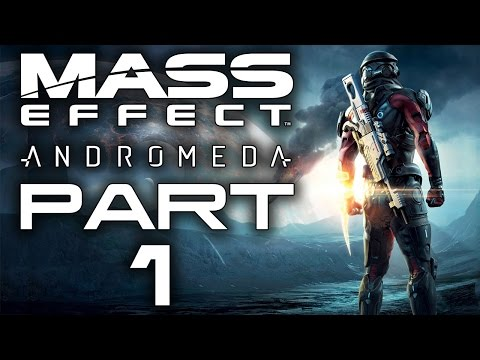 """Mass Effect: Andromeda - Let's Play - Part 1 - """"Character Creation"""""""
