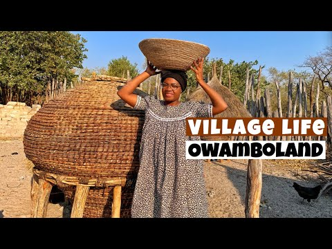 Village life in Namibia | Owamboland | Our way of Living | African Culture | Namibian YouTuber