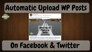 AutoPublish posts of Wordpress on Facebook, Twitter, etc. | 2018