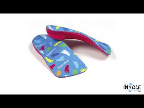 Powerstep PowerKids Pediatric Orthotic Arch Support Insoles @TheInsoleStore.com