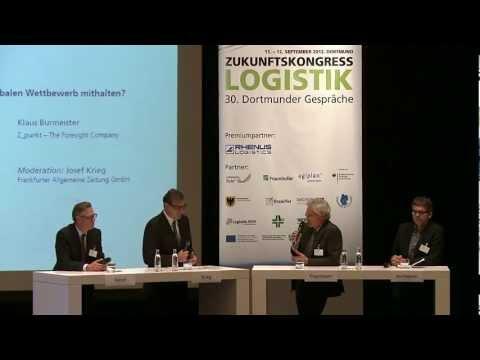 """Zukunftskongress Logistik 2012 Expertengespräch """"Fortschritt im Fokus"""""""