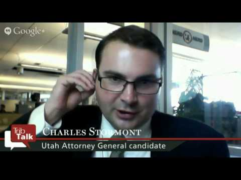 Trib Talk: Interview with Utah AG candidate Charles Stormont