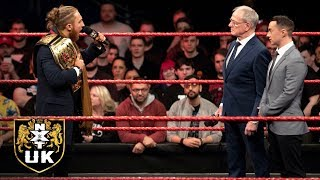 Dunne demands a match against WALTER at NXT TakeOver: New York: NXT UK highlights, March 20, 2019