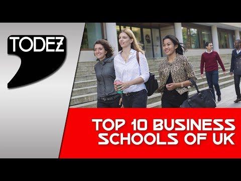 Top 10 Business Schools Of UK