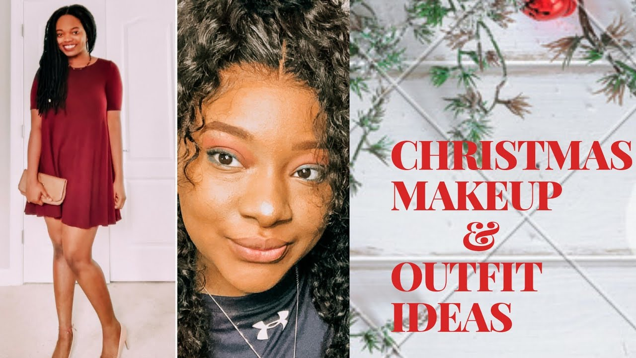 Christmas Party Makeup Hair And Outfit Ideas Saubhaya Makeup