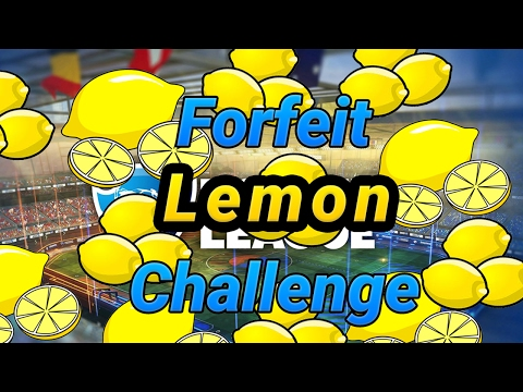 100 Subscriber special!!! Lemon Forfeit Challenge!