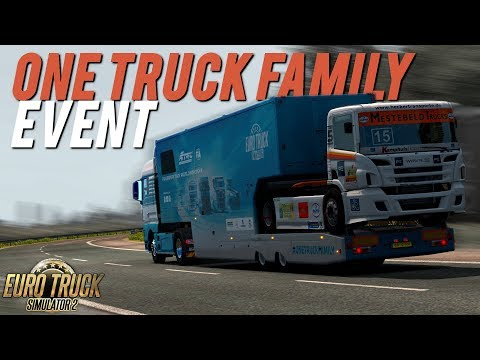 One Truck Family Event | Euro Truck Simulator 2 | Toast 🚚