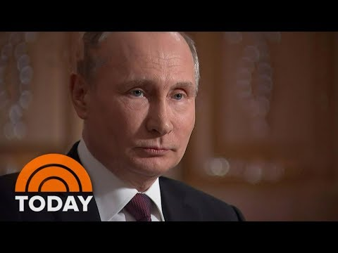President Vladimir Putin To Megyn Kelly: Our New Nuclear Weapons Are 'Battle Ready' | TODAY