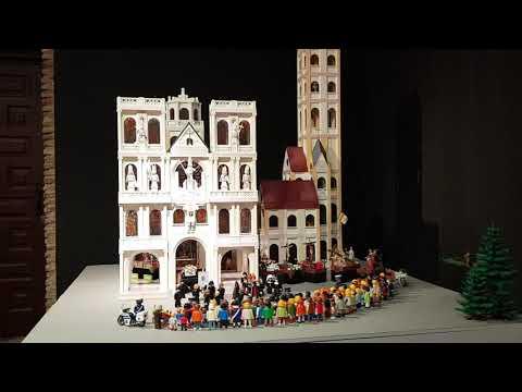 Semana Santa Segovia 2019.  Catedral Playmobil  (1)