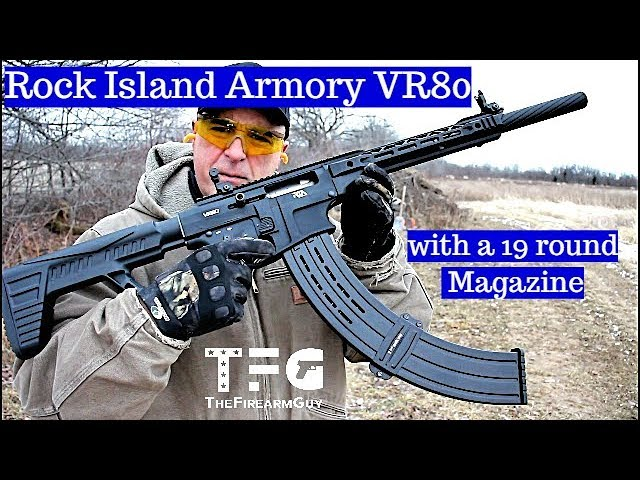 Rock Island Vr80 With A 19 Round Magazine Thefirearmguy Youtube The rock island vr80 is a gun i can have fun with, and cheap ammo is the best ammo for having fun. rock island vr80 with a 19 round