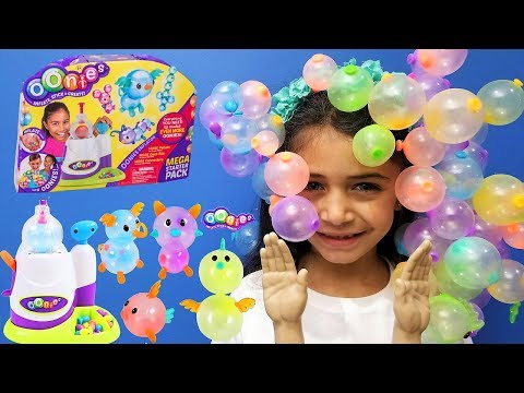 OONIES and TINY HANDS TOYS CHALLENGE! kids fun video