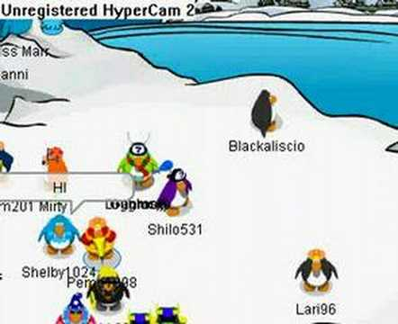 club penguin how to make it stop going so slow