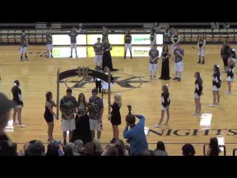Henryetta high school 2015 Basketball homecoming