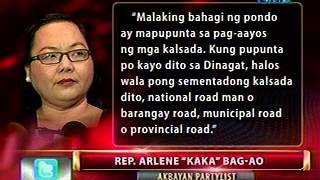 24 Oras: Rep. Kaka Bag-ao, itinalagang caretaker ng Dinagat Islands