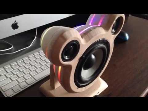 Homemade Wooden Bluetooth Speaker Pugoffka part1