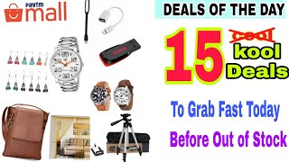 15 Amazing Cheap Paytm mall Products. Paytm Mall Deals Of The Day.