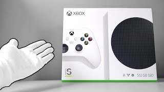 Xbox Series S Console Unboxing - The Smallest Xbox Ever
