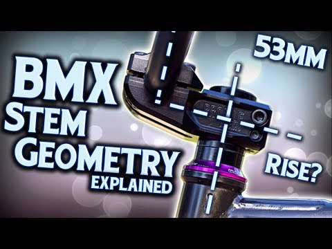 BMX Stem Geometry - EXPLAINED