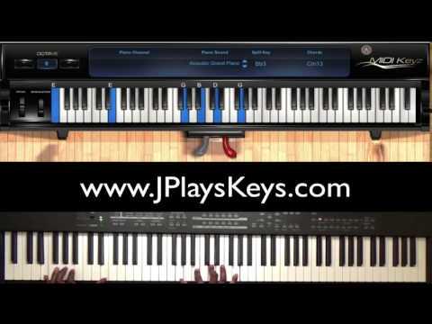 We Exalt Thee Piano Tutorial