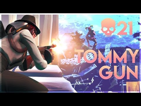 THE NEW TOMMY GUN IS OP?! Solo 21 Kill Gameplay - Fortnite
