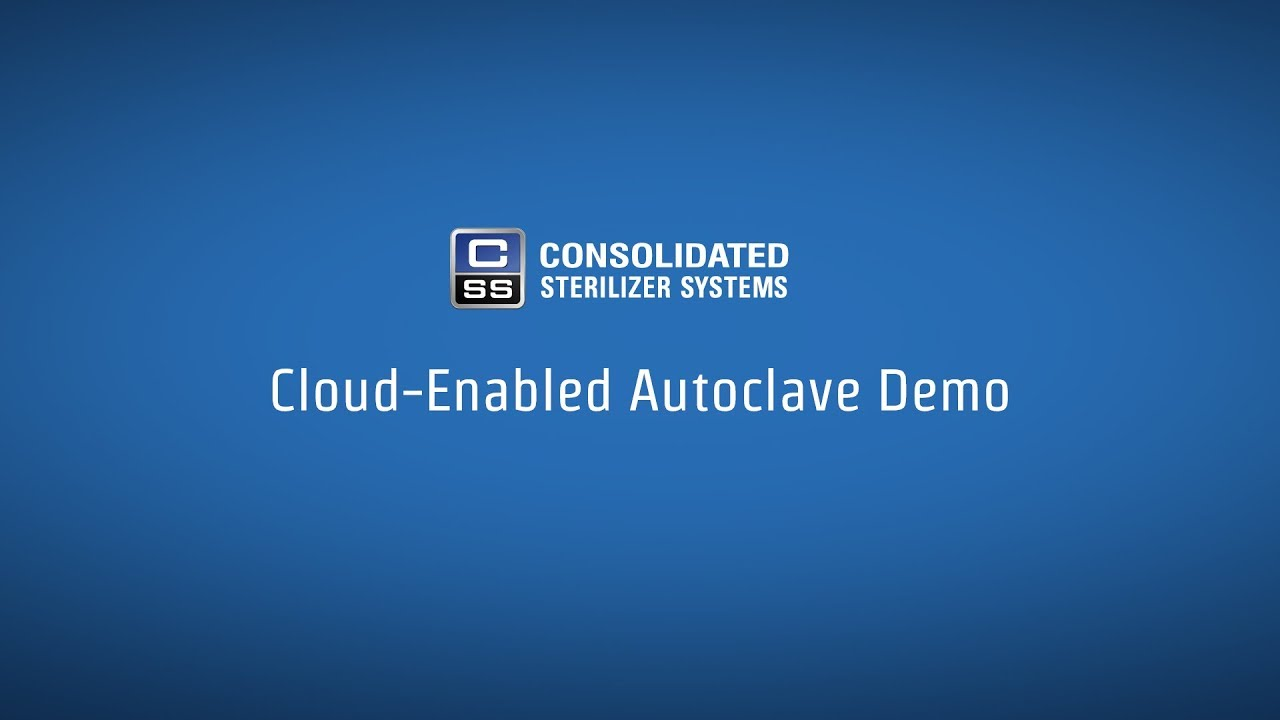 Cloud Enabled Autoclave Demo | Consolidated Sterilizer Systems