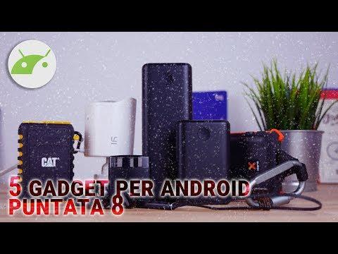 5 ACCESSORI tecnologici CURIOSI per Android | Puntata 8 ITA da TuttoAndroid
