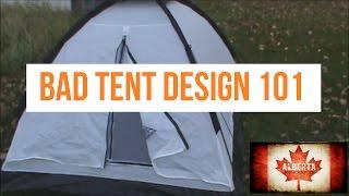 Tents: Bad Tent Design 101