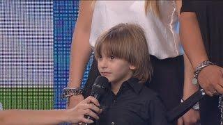 Insólita respuesta que dio este nene cuando le preguntaron su nombre