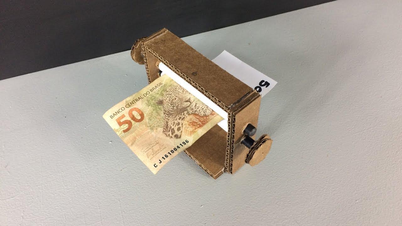 Como Fazer Maquina De Imprimir Dinheiro Truque Youtube