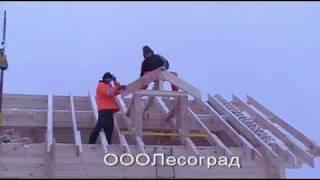 Дом из профилированного бруса с эркером(, 2012-02-05T16:53:23.000Z)