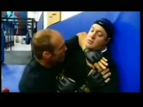 Kevin James Training With Randy Couture