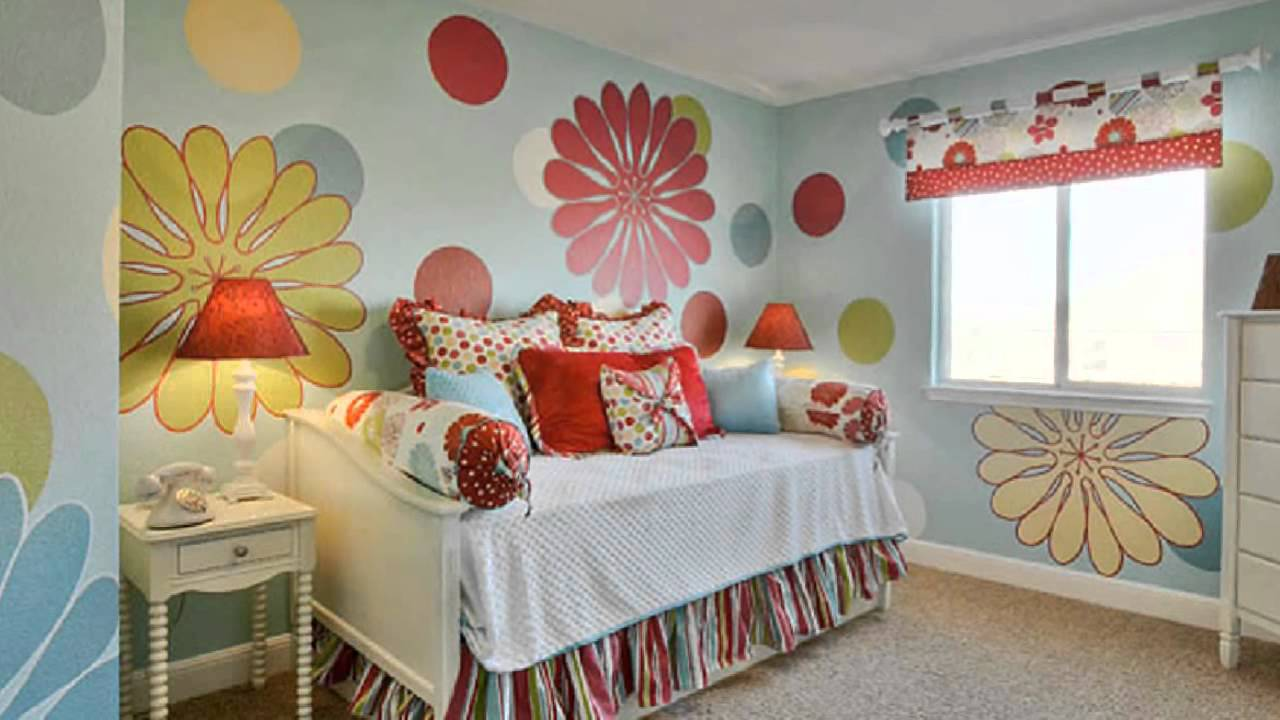 CUTE GIRLY BEDROOM IDEAS - YouTube