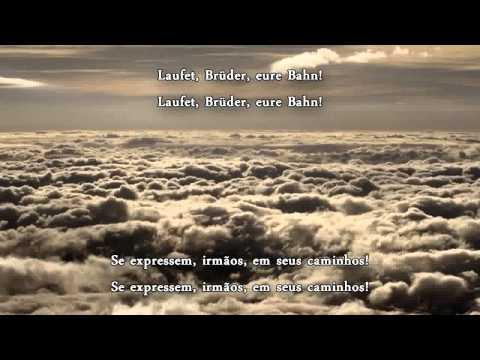 An Die Freude Legendado (Deutsch/PT) Ode à Alegria - Beethoven 9ª Sinfonia