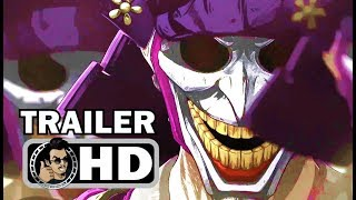 BATMAN NINJA Official Trailer #2 - English Version (2018) DC Superhero Movie HD