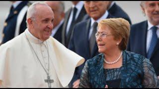Chile: Papa Francisco recibió honores en el Palacio de La Moneda