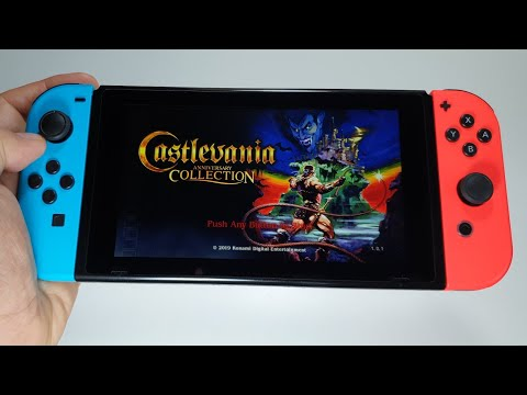 Castlevania Anniversary Collection Nintendo Switch gameplay | testing all games |
