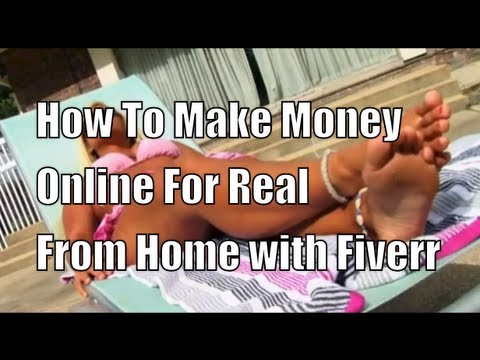 Fiverr-Make Money Online For Real From Home  by Glendon Cameron