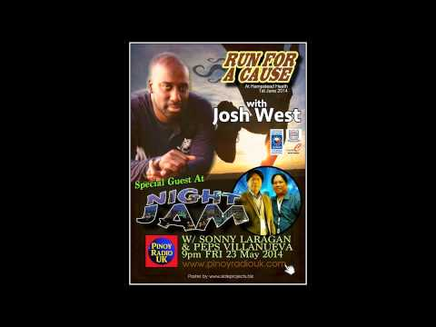 Josh West Pinoy Radio interview with Sonny Laragan & Peps Villanueva