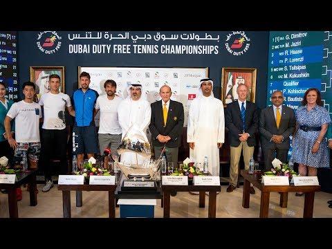 2018 Dubai Tennis - ATP Men's Singles Draw Ceremony