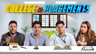 College Ki Placement | College Life | RealHit
