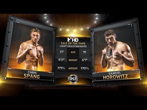 Sammy Horowitz vs. Chris Spang BKB3