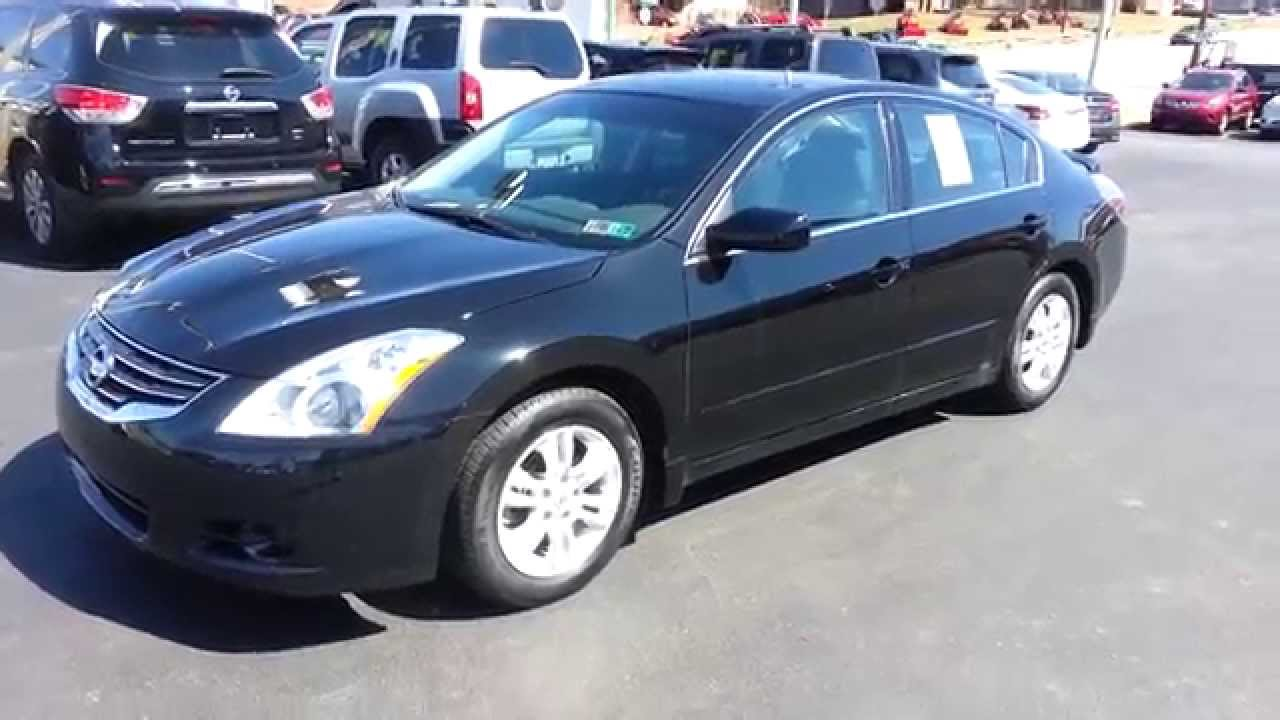2012 nissan altima 25 s special edition super black youtube vanachro Choice Image