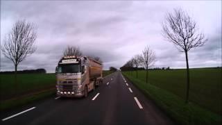 journée en camion on va livrée dans les fermes [GOPRO] #2 spécial 680 abonnés