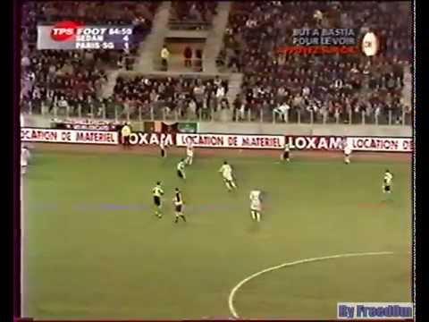 CSSA - Paris Saint Germain 13e journée saison 2000/2001