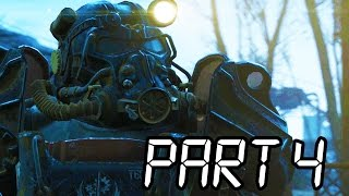 Fallout 4 Gameplay Walkthrough Part 4 - JOIN THE BROTHERHOOD!! (XB1/PS4/PC 1080p HD)