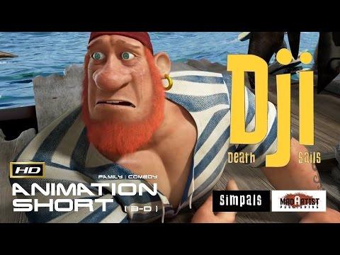 Funny CGI 3d Animated Short film ** DJI DEATH SAILS ** - Cute Adventure Cartoon By Simpals